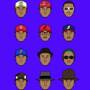 Faces of Pharrell
