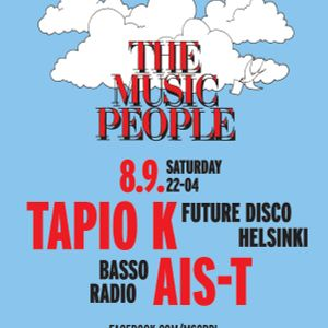 Music People w/ Tapio K & Ais-T @ Mbar 8.9.2012