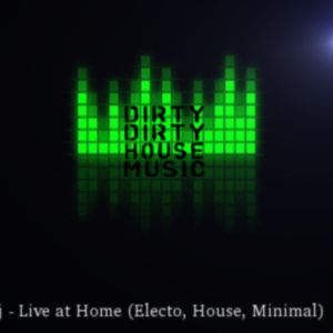 sinyodj - Live at Home (Electo, House, Minimal)