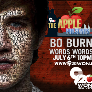 """The Apple Presents... with Ian Weber - Bo Burnham """"Words Words Words"""" (Show from 7/6/17)"""