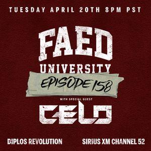 FAED University Episode 158 featuring CELO