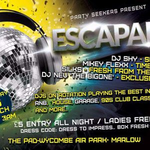 ESCAPADE @ THE PAD 26TH MARCH PROMO MIX BY MIKEY FLEXX SOUND