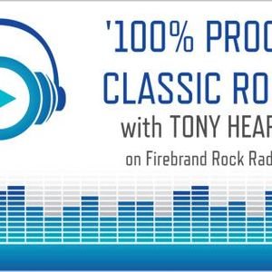 '100% Proof' - brand new Classic Rock show, broadcast Sat Aug 16