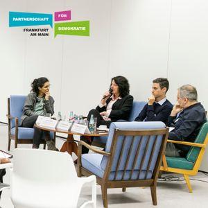 Demokratiekonferenz - Podiumsgespräch: Zwischen Allianzen und Abschottung - November 2019