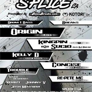 Live @ Splice April 2007
