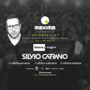 Silvio Carrano @ Maxima Fm - Blanco Y Negro Session