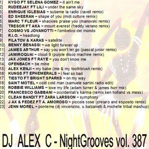 DJ ALEX C - NightGrooves 387 dance 2017
