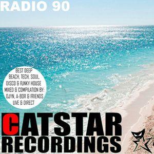 CATSTAR RECORDINGS RADIO SHOW 90 [wmc 2017]