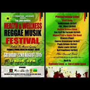Highlanda Sound at Health & Wellness Reggae Musik Festival live 8-22-15