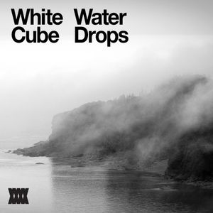 White Cube Water Drops