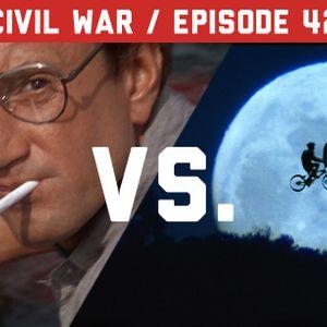 Episode 42 – Civil War: Jaws vs. E.T. the Extra-Terrestrial