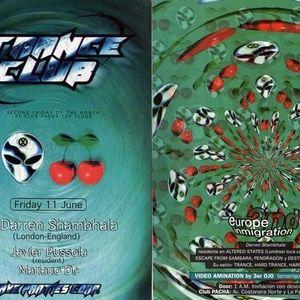 darren Shambhala @ Trance Club (Club Pacha BA) 1999