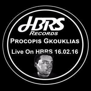Procopis Gkouklias Live On HBRS 19-02-16
