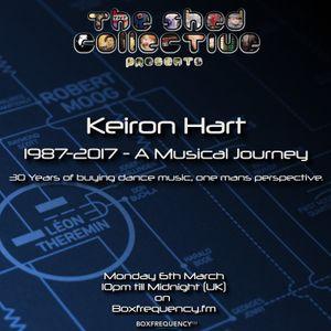 "Douglas Deeps Radio Show #35 06/03/17 - Keiron Hart presents ""(1987-2017) A Musical Journey"""