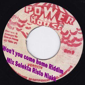 Won't you come home Riddim 92' Mix Free Selekta Risto Niakk