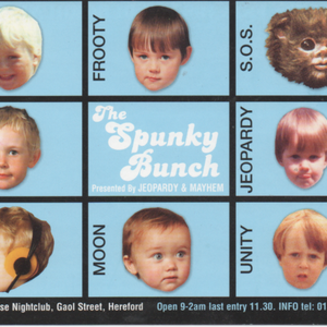 BRISK & UNITY -JAILHOUSE february 2001 - SPUNKY