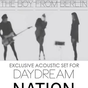 Exclusive acoustic set The Dark Shadows for Daydream Nation - September 2014