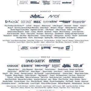 David Guetta - Live @ WMC Ultra Music Festival 2012, Miami, E.U.A. (25.03.2012)