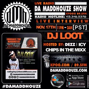 Da Maddhouze sits down with DJ Loot on KPOO 89.5 FM