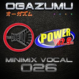 Ogazumu Minimix Vocal EDM 026