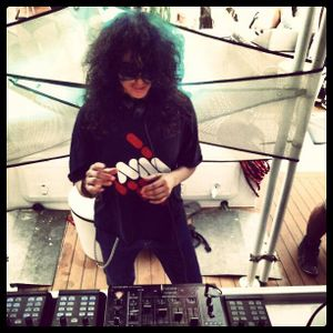 NICOLE MOUDABER / Live on the 5*Catamaran in Co-Op with Carl Cox @ Space / 13.08.2013 / Ibiza Sonica