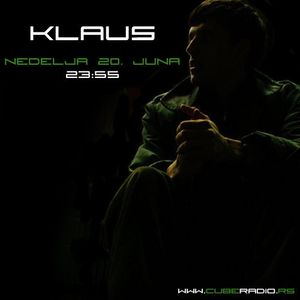 klaus - cube radio (june 2010)