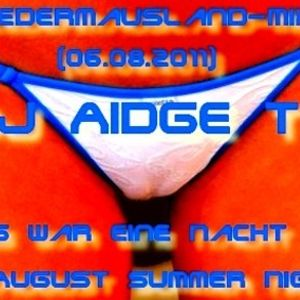 DJ Aidge T - In August Summer Night - Fledermausland-Mix (06.08.2011)