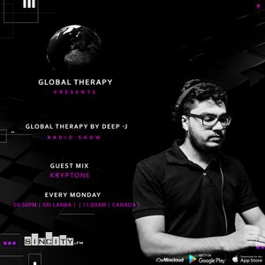 Global Therapy by Deep-J + Guest Mix KRYPTONE