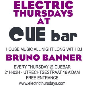 Bruno Banner Live @ Electric Thursdays Part 1 / CueBar Amsterdam Utrechtstraat 16 01/03/12