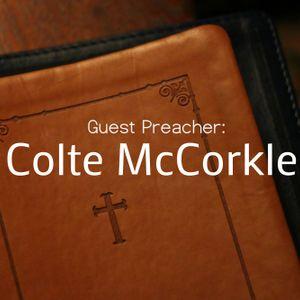 Guest Speaker: Colte McCorkle