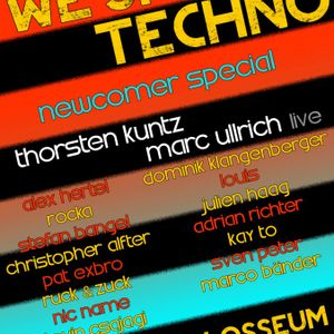 Rocka @ We Smile Techno 23.2.2013 Colosseum Landau Part1