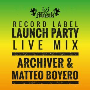 Archiver & Matteo Boyero - i&i Musik Launch Party @ The Salisbury (19.12.15)
