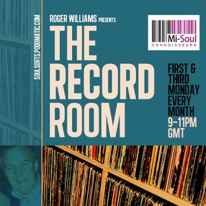 The Record Room w / Roger Williams - 14.08.17