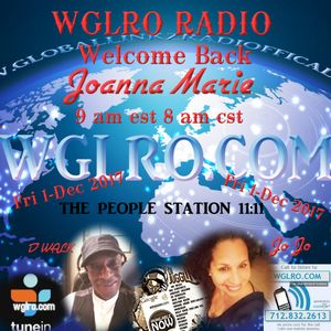WGLRO Radio welcomes back Joanna Marie the Donny Walker morning show Friday 1- Dec 2017