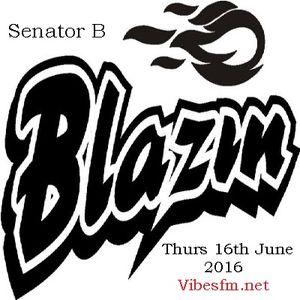 Thurs 16th June 2016 Senator B on The Universal Reggae Jam_Vibesfm.net