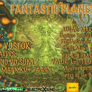Fantastic Planet Set By Maak K'uh Paax
