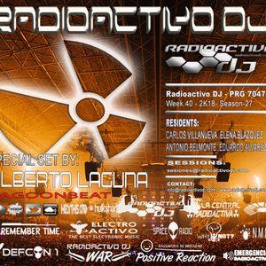 RADIOACTIVO DJ 40-2018 BY CARLOS VILLANUEVA