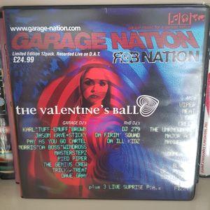 Mastersteps Garage Nation 'The Valentines Ball' 8th Feb 2002