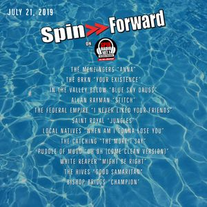 SPIN FORWARD JULY 21ST, 2019