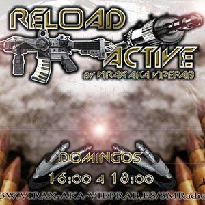 RELOAD ACTIVE by VIRAX AKA VIPERAB - 23/12/2012 1er PROGRAMA