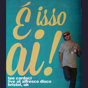 Tee Cardaci - Live at Alfresco Disco (Bristol, UK)
