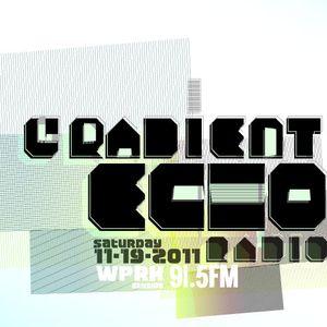 GradientEchoRadio: WPRK Studios 11-19-2011