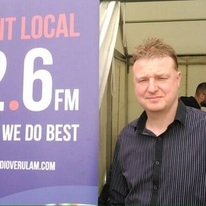 The Andy Hour - Darrell Andrews on Radio Verulam 92.6 - John smokes cigar