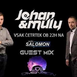 Johan & Muly@Radio Salomon - Guest Mix With Wide Dimension (27.07.2017)