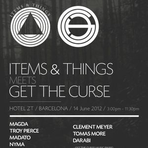 Madato (live) @ Items & Things meets Get The Curse, Barcelona (June 2012)
