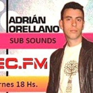 Adrian Orellano presenta en TEC RADIO Sub Sound