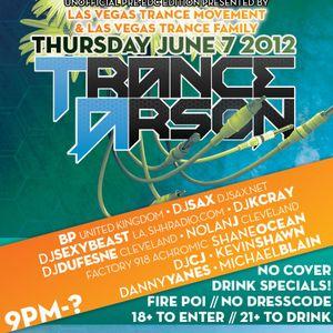 Trance Arson - Las Vegas, NV