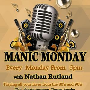 Manic Monday With Nathan Rutland - August 10 2020 www.fantasyradio.stream