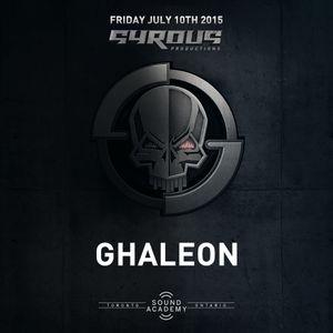 DJ Ghaleon - LIVE at SYROUS RETURNS - oldschool darkside jungle