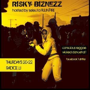 RISKY BIZNEZZ live! PAPA POBRE - JHOVI - SELECTA RULIN'FIRE 19.09.12